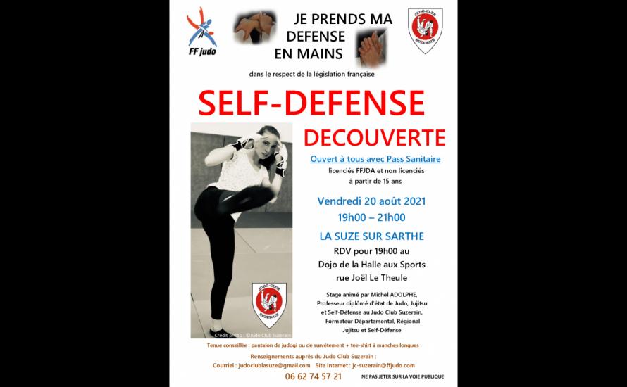 Découverte Self-Défense